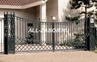 Элитный кованный забор