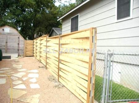 Деревянный забор плетенка 50 м